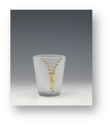 Shot Glasses XYZ Gold