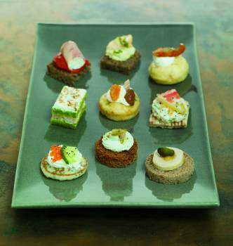 Picant fingerfood airstream for Canape winson